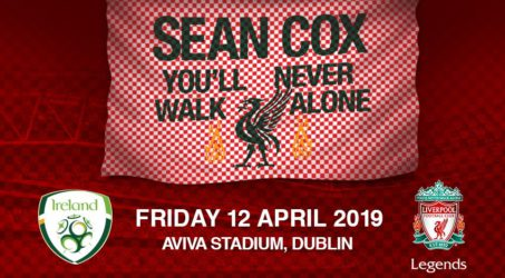 LFC Legends Seán Cox Charity Game
